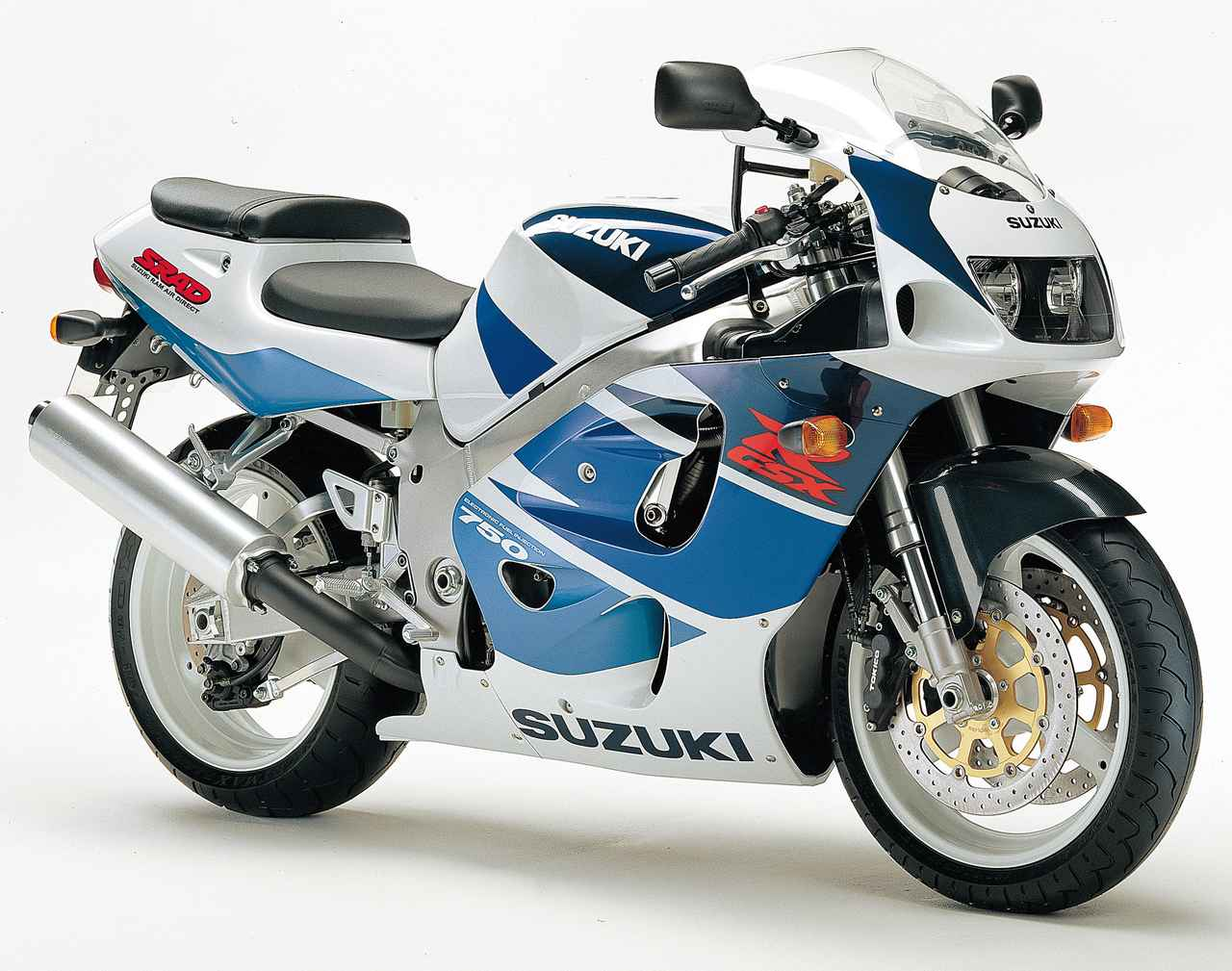 Images : 4番目の画像 - GSX-R750(1992〜2004年)の写真を全て見る! - webオートバイ