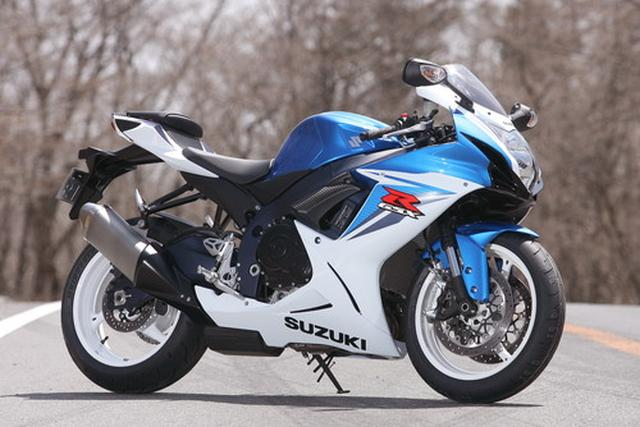 画像: スズキ GSX-R600(2011年) - webオートバイ