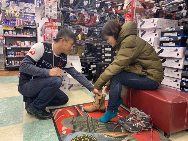画像3: 今回のツーリング!1番の目的は「サラサちゃんのブーツを買いに行こう♪」