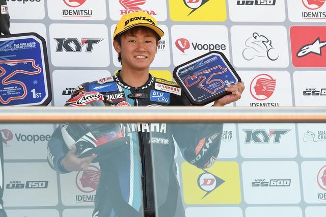 画像: 3レース連続3位となったユウキ 狙うは初優勝、そしてデビューイヤーチャンピオン!