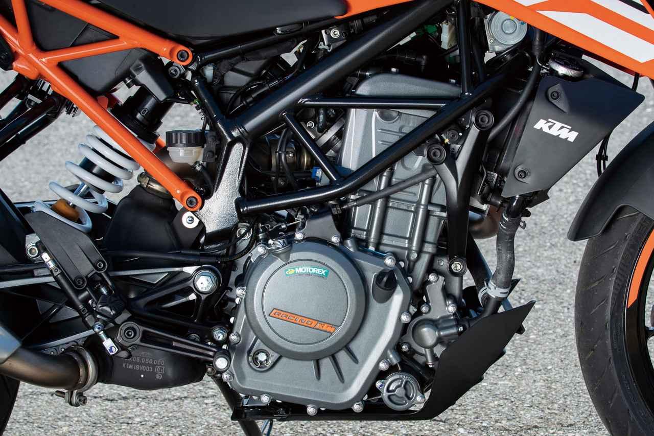画像2: スポーツマインドと個性あふれる爽快ストリートファイター KTM「250DUKE」