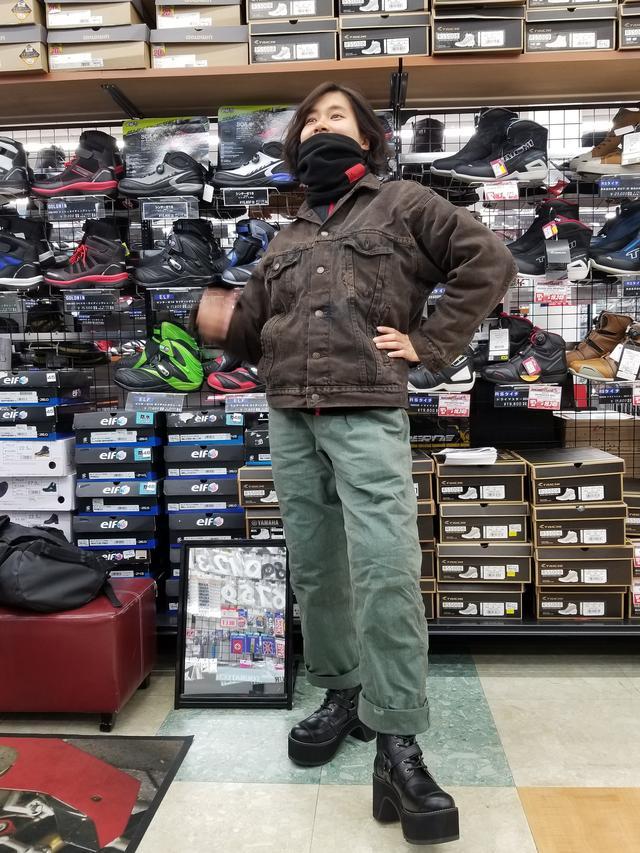 画像7: 今回のツーリング!1番の目的は「サラサちゃんのブーツを買いに行こう♪」