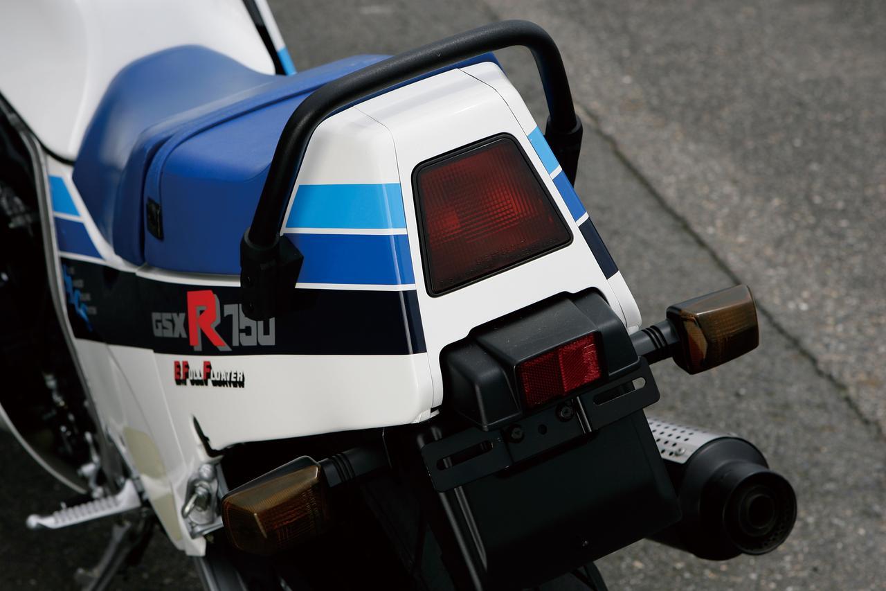 Images : 4番目の画像 - GSX-R750シリーズの写真を全て見る! - webオートバイ