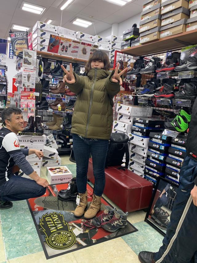 画像6: 今回のツーリング!1番の目的は「サラサちゃんのブーツを買いに行こう♪」