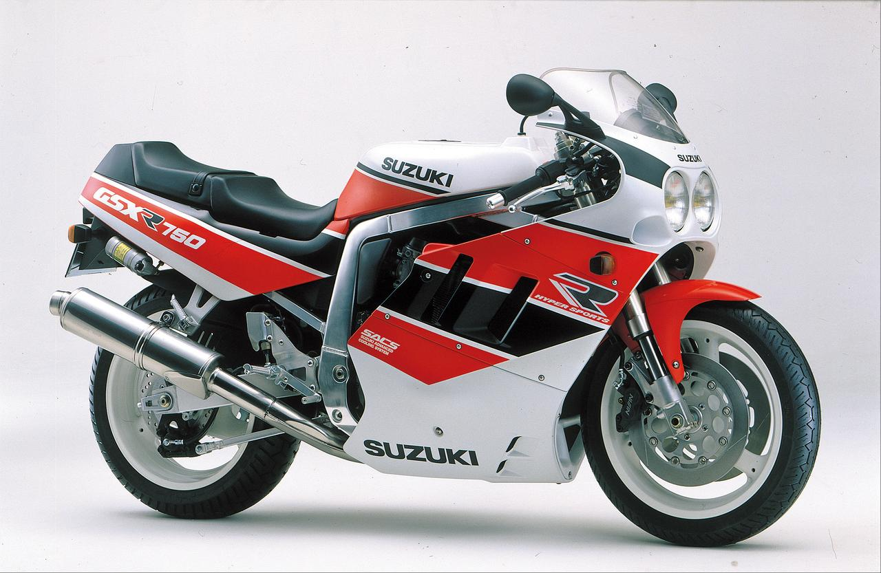 Images : 13番目の画像 - GSX-R750シリーズの写真を全て見る! - webオートバイ