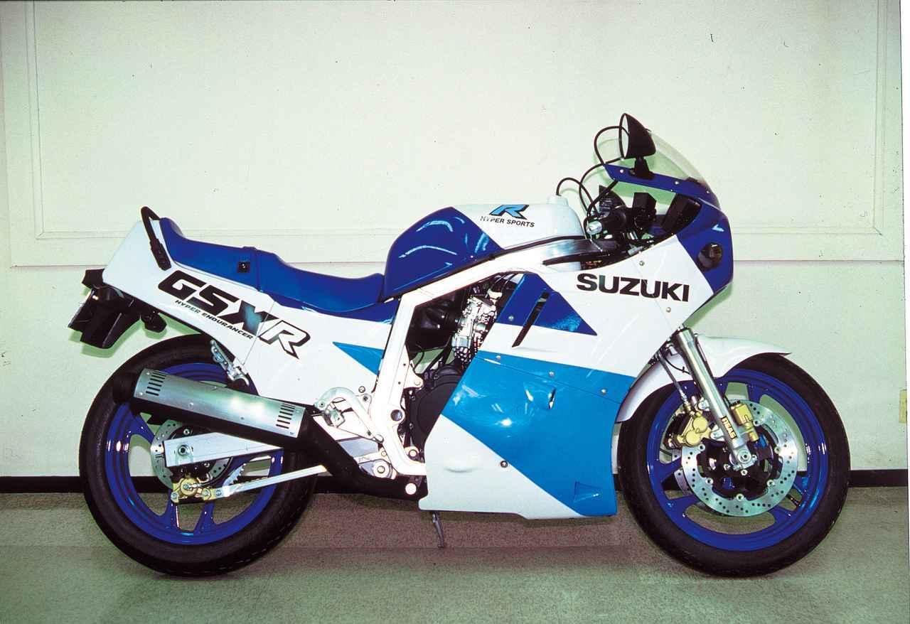 Images : 9番目の画像 - GSX-R750シリーズの写真を全て見る! - webオートバイ