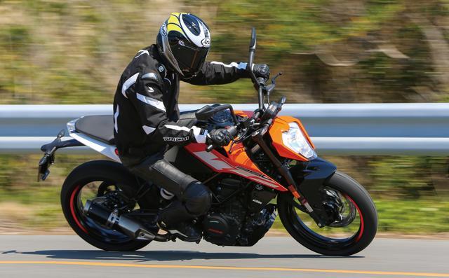 画像3: スポーツマインドと個性あふれる爽快ストリートファイター KTM「250DUKE」
