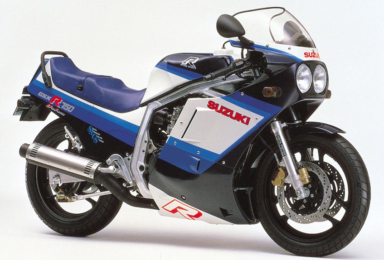 Images : 7番目の画像 - GSX-R750シリーズの写真を全て見る! - webオートバイ
