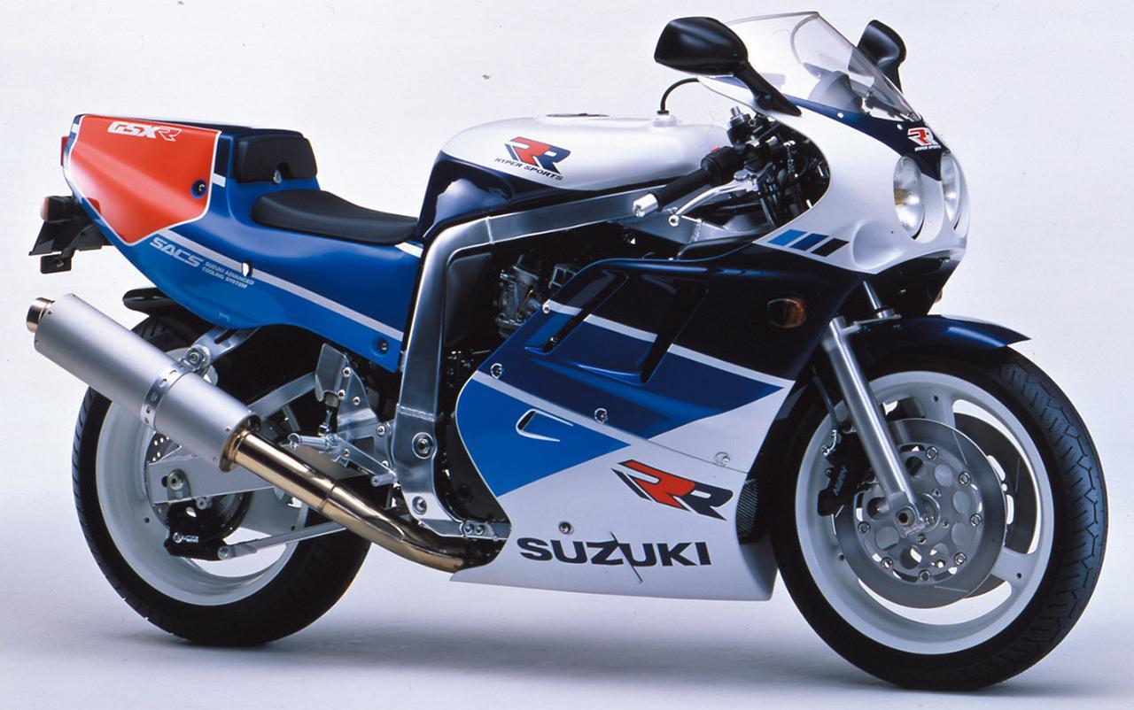 Images : 12番目の画像 - GSX-R750シリーズの写真を全て見る! - webオートバイ