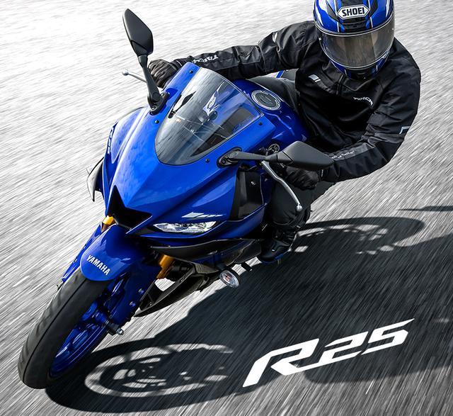 画像: YZF-R25 - バイク・スクーター|ヤマハ発動機株式会社