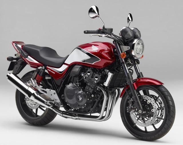 画像: 「CB400 SUPER FOUR」「CB400 SUPER BOL D'OR」に新カラーが登場! - webオートバイ