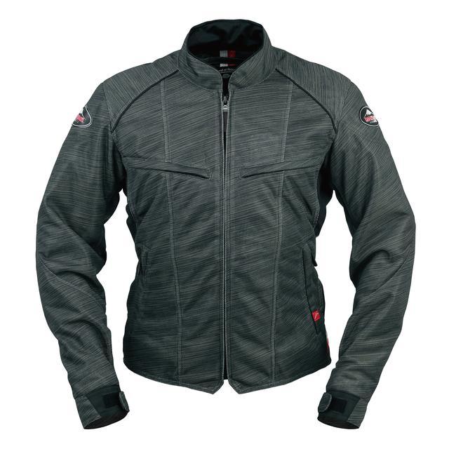 画像4: 生地プリントの妙! 一見メッシュジャケットと思えないクシタニの「フルメッシュジャケット」がおしゃれ!