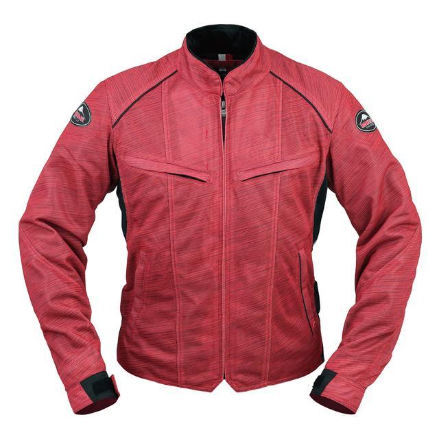 画像3: 生地プリントの妙! 一見メッシュジャケットと思えないクシタニの「フルメッシュジャケット」がおしゃれ!