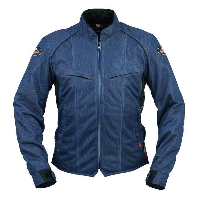 画像2: 生地プリントの妙! 一見メッシュジャケットと思えないクシタニの「フルメッシュジャケット」がおしゃれ!