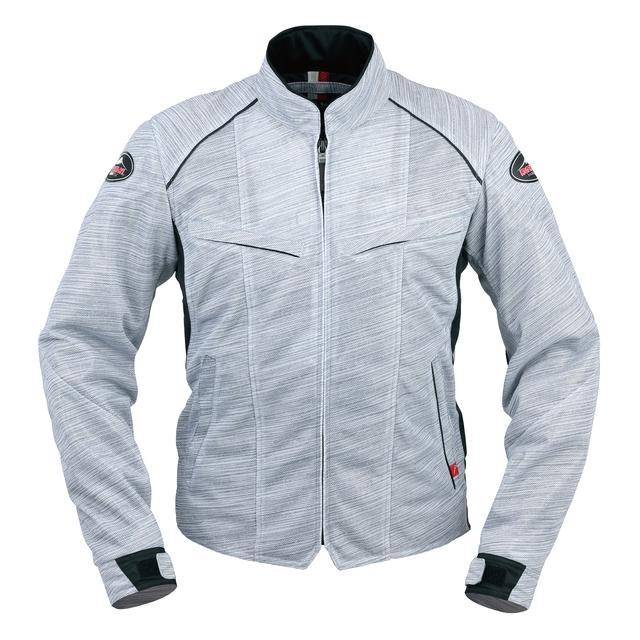 画像1: 生地プリントの妙! 一見メッシュジャケットと思えないクシタニの「フルメッシュジャケット」がおしゃれ!