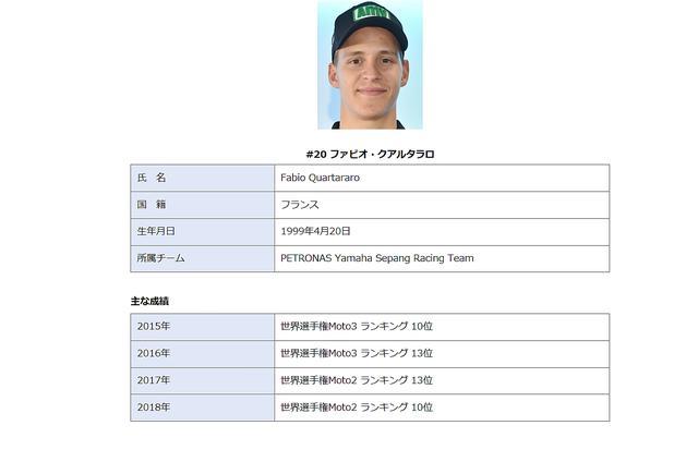 画像: これがヤマハの公式資料です(ヤマハホームページ https://race.yamaha-motor.co.jp/motogp/より)
