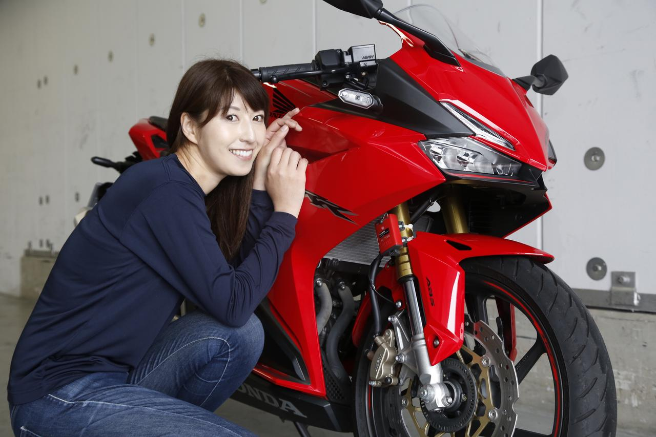 Images : 5番目の画像 - 大関さおり×HONDA CBR250RR - webオートバイ