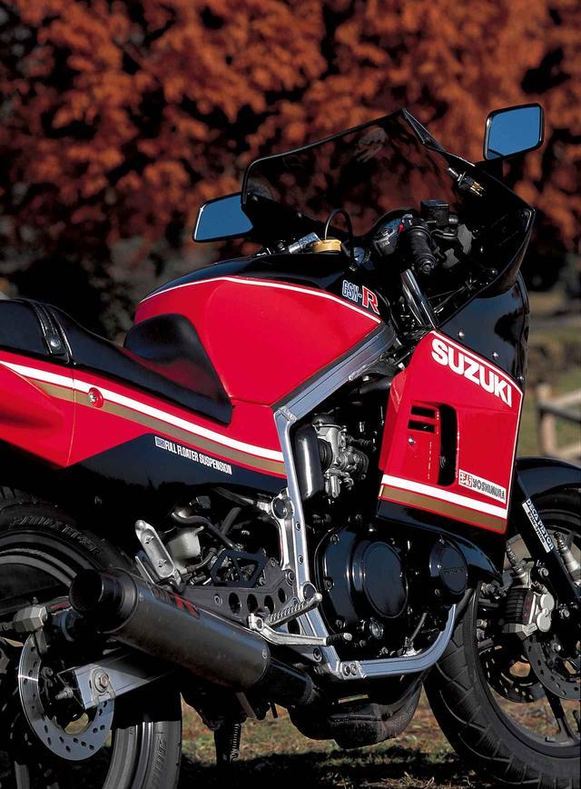 画像: <ヨンヒャク今昔物語>Suzuki GSX-R(1984年) - webオートバイ
