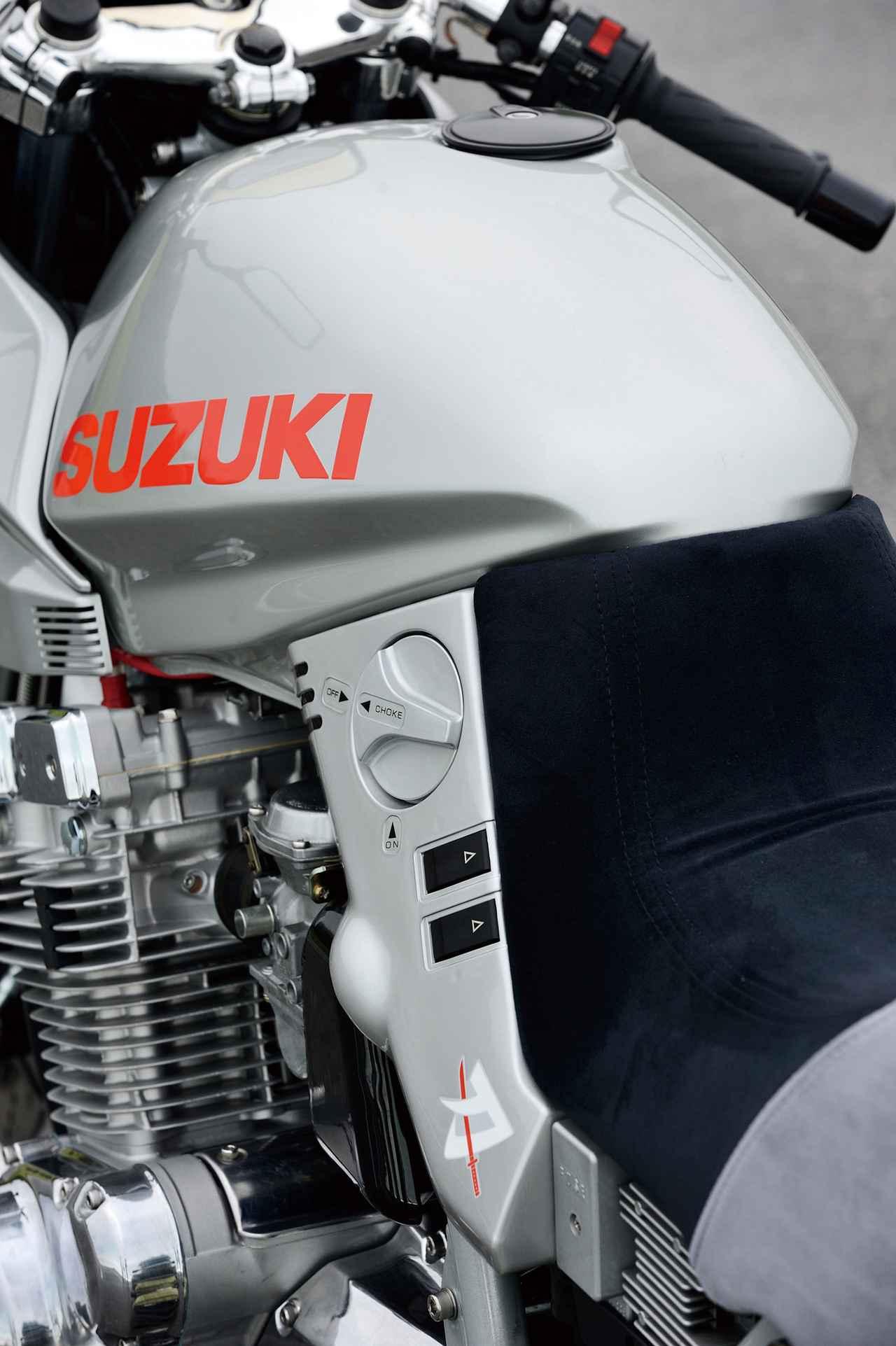 Images : 4番目の画像 - 「衝撃のデビューからはや35年今なお古さを感じさせない魅力的スタイル『SUZUKI GSX1100S』#RIDE」のアルバム - webオートバイ