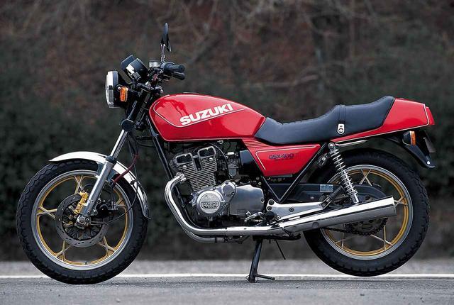 画像: <ヨンヒャク今昔物語>Suzuki GSX400F(1981年) - webオートバイ