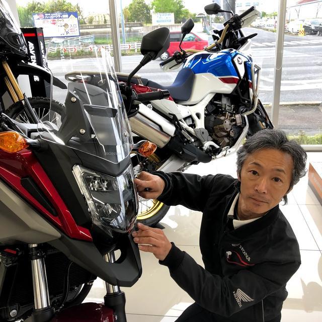 画像5: 「幼少よりバイクに親しみ国際A級ライセンス所得後、テクニカルスポーツ関東より全日本ロードレースの参戦していました。サーキットではSSばかりなので、普段はトレーニングでOFF、ツーリングではアドベンチャーモデル、通勤ではスクーターなど、いろんなオートバイに乗っています!」