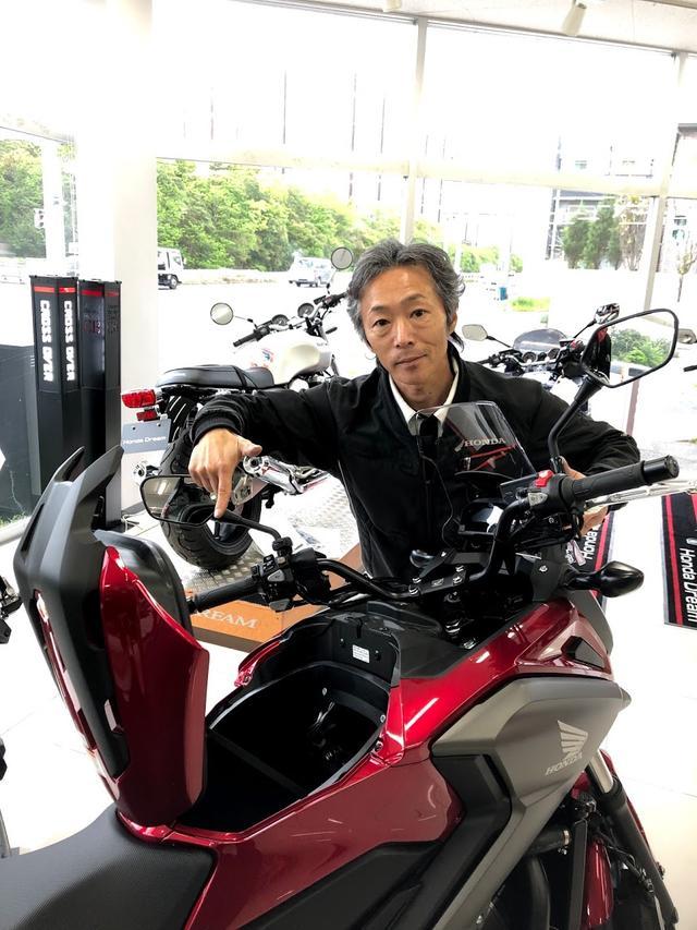 画像4: 「幼少よりバイクに親しみ国際A級ライセンス所得後、テクニカルスポーツ関東より全日本ロードレースの参戦していました。サーキットではSSばかりなので、普段はトレーニングでOFF、ツーリングではアドベンチャーモデル、通勤ではスクーターなど、いろんなオートバイに乗っています!」
