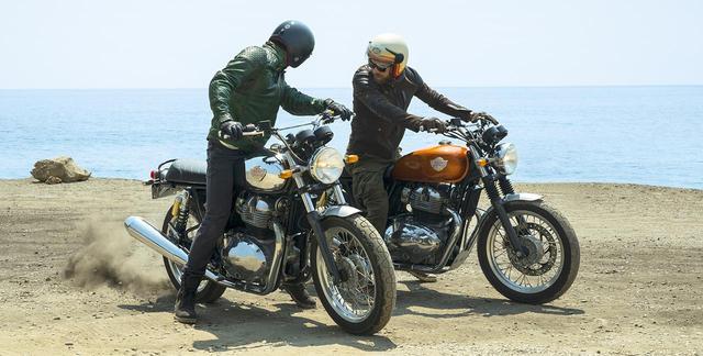 画像: ブランニューモデル!! ロイヤルエンフィールドから並列2気筒エンジンを搭載した「コンチネンタルGT650」と「INT650」が登場! - webオートバイ