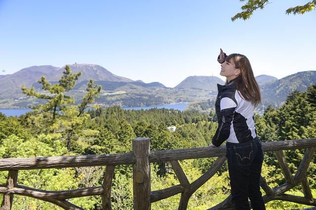 画像5: 神奈川県の西湘バイパスから箱根へ。海から一気に山景色に!