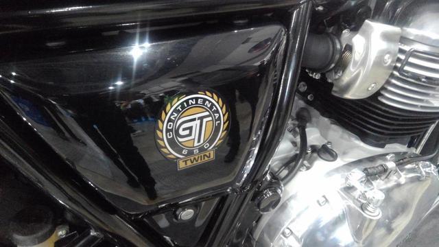 画像: 日本初公開! ロイヤルエンフィールド「コンチネンタルGT650」 - webオートバイ