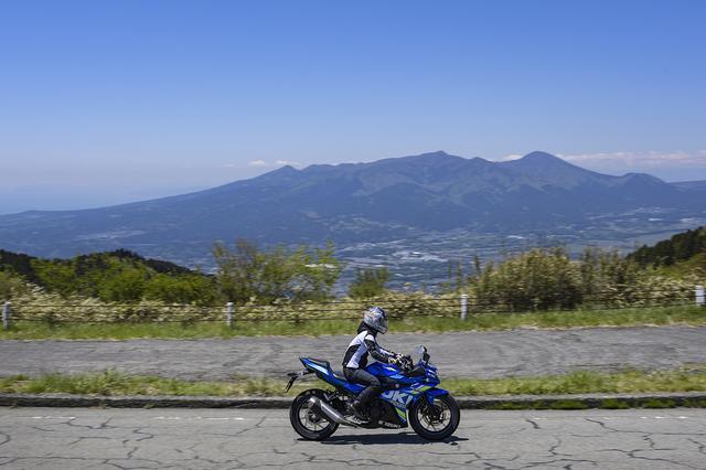 画像: 富士山以外の山々も綺麗♪
