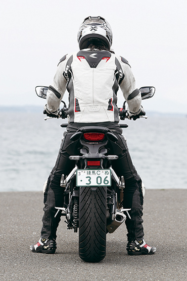 Images : RIDING POSITION  身長:176㎝  体重:68㎏