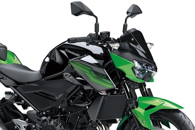 画像: Z400の国内販売が決定! 数少ない400ネイキッドに新たな選択肢が誕生 - webオートバイ