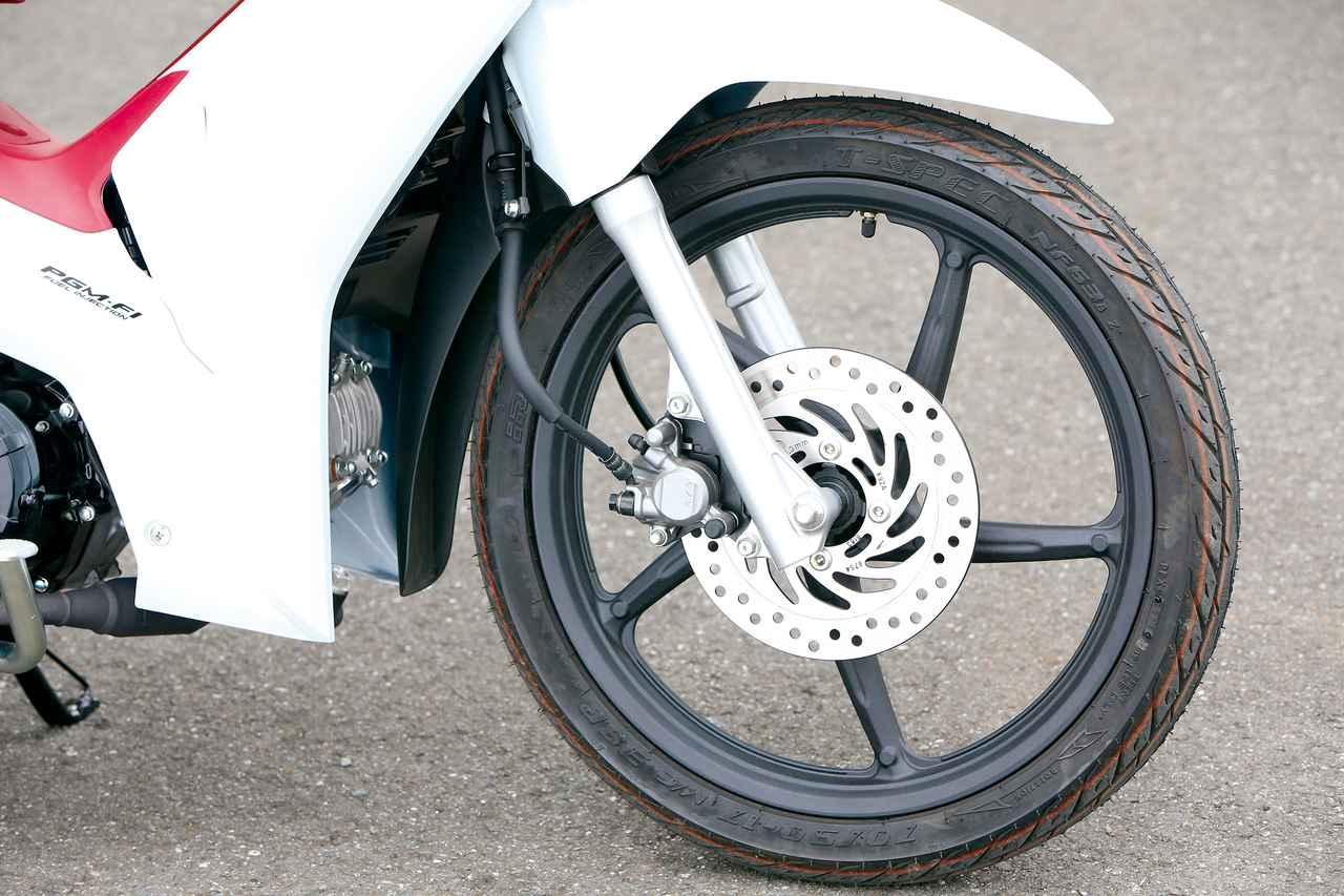 Images : 13番目の画像 - タイホンダ WAVE125i CAST WHEEL - webオートバイ