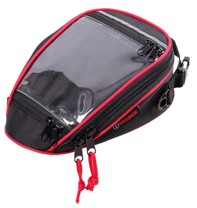 画像6: スマホホルダーと小物入れを兼ねるお手頃タンクバッグ