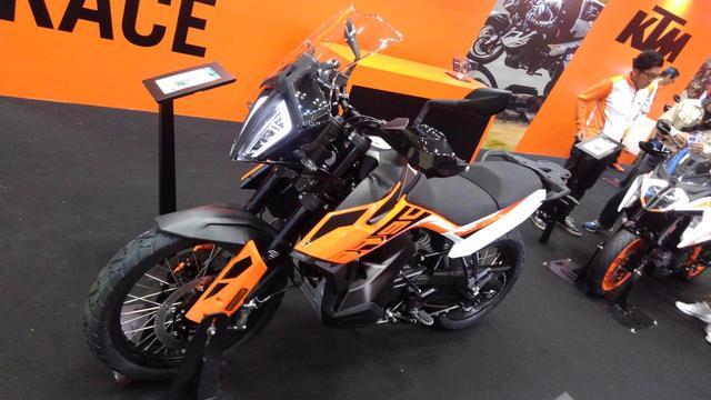 画像: KTMが790アドベンチャーを日本初公開! - webオートバイ