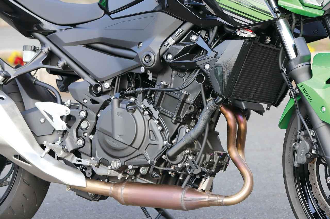 Images : 4番目の画像 - 「生まれ変わった「凄みのZ」『KAWASAKI Z400』#試乗インプレ」のアルバム - webオートバイ