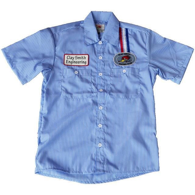 画像6: 夏にぴったり! クレイスミスから新たなデザインのピットシャツとワークシャツが登場!