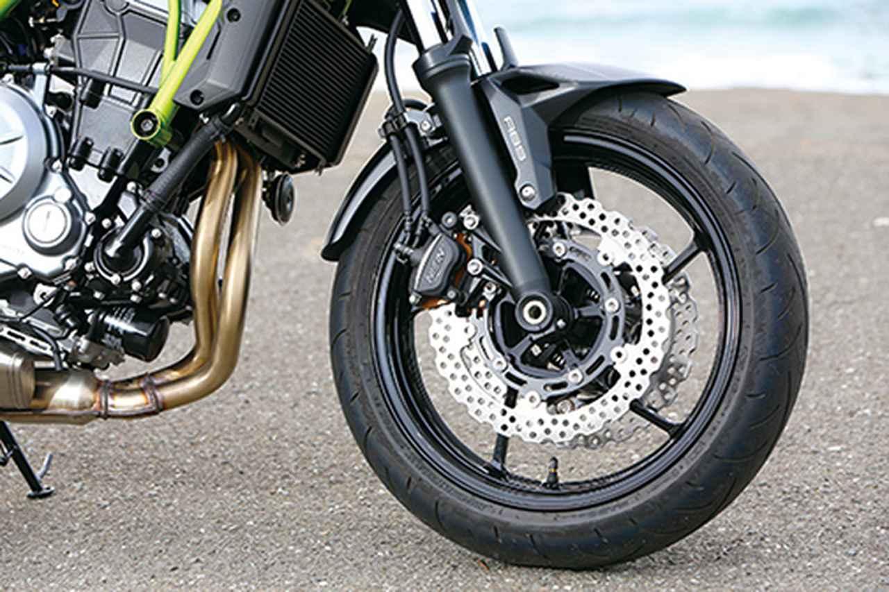 Images : 5番目の画像 - 「目指すは違いが分かるライダー!? 注目のスポーツネイキッド選ぶならどれ⁉「CB650R/Z650/MT-07/SV650 ABS」」のアルバム - webオートバイ