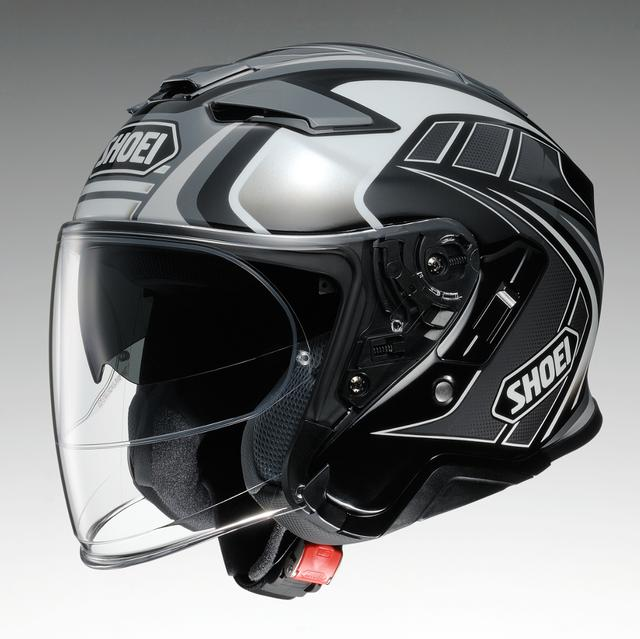 画像: SHOEI J-Cruise II TC-5(WHITE/BLACK)