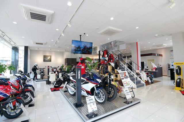 画像: ホンダ二輪車の全車種を取り扱う唯一の専門店!