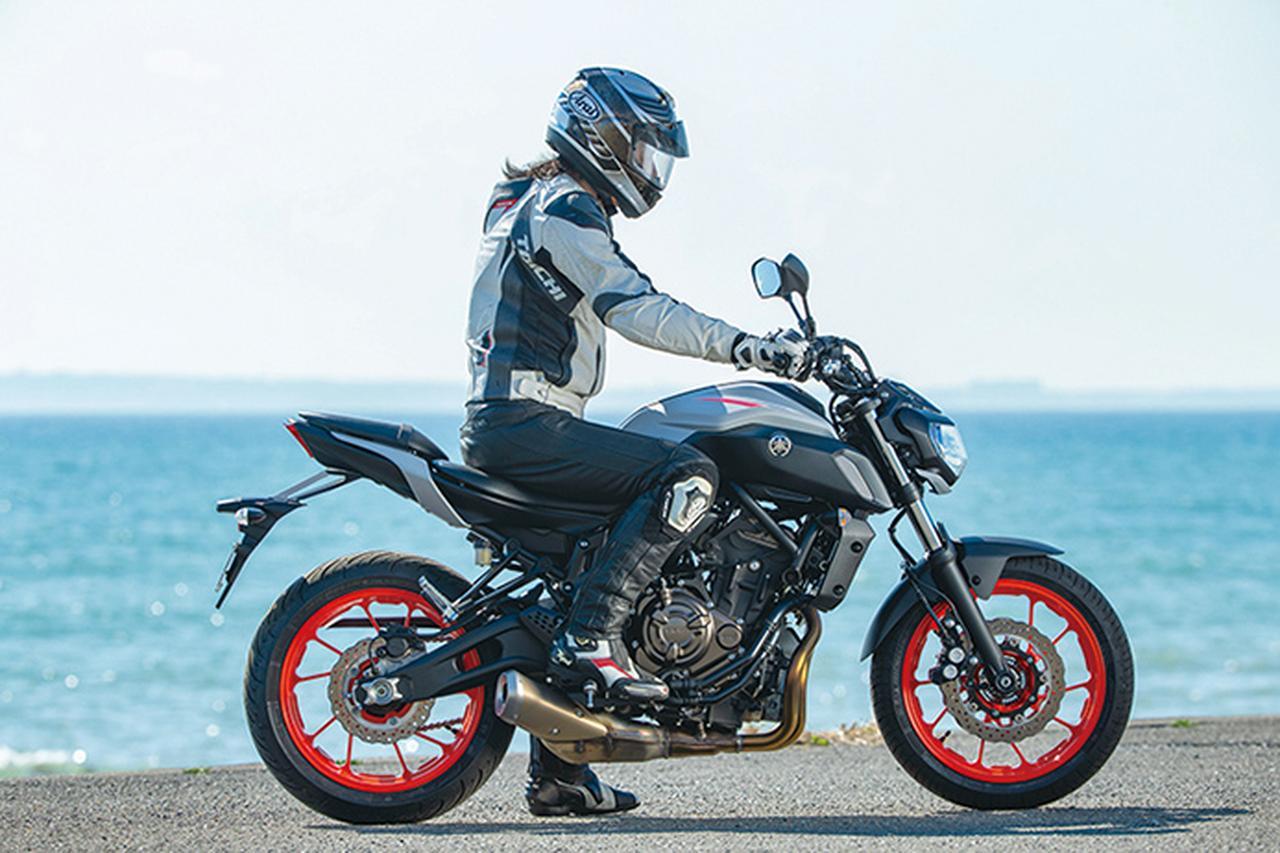 Images : 2番目の画像 - 「目指すは違いが分かるライダー!? 注目のスポーツネイキッド選ぶならどれ⁉「CB650R/Z650/MT-07/SV650 ABS」」のアルバム - webオートバイ