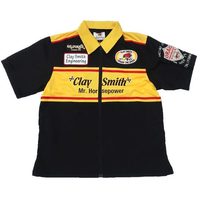 画像2: 夏にぴったり! クレイスミスから新たなデザインのピットシャツとワークシャツが登場!