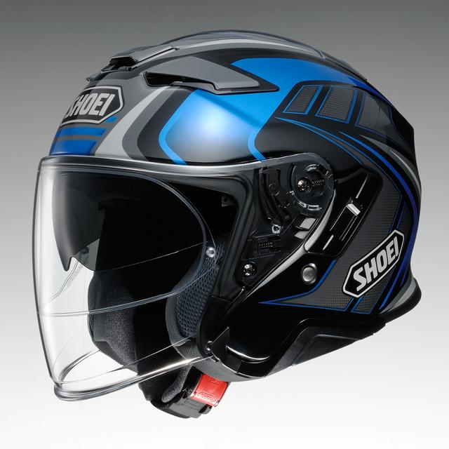 画像: SHOEI J-Cruise II TC-2(BLUE/BLACK)