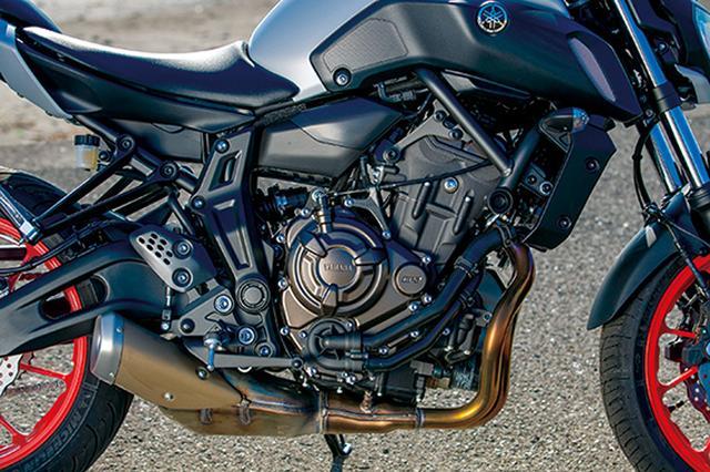 画像7: 目指すは違いが分かるライダー!? 注目のスポーツネイキッド選ぶならどれ⁉「CB650R/Z650/MT-07/SV650 ABS」