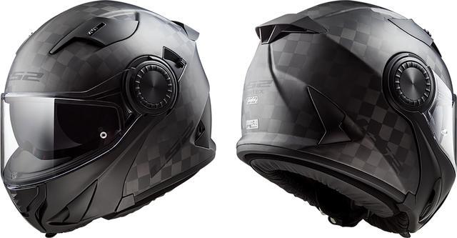画像: LS2から登場! 待望のカーボンシステムヘルメット!