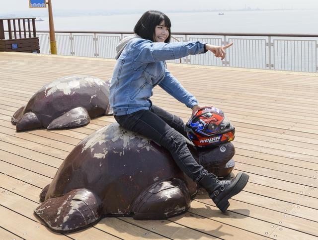 画像1: 美環 in 海ほたるPA【オートバイ女子部のフォトアルバム】