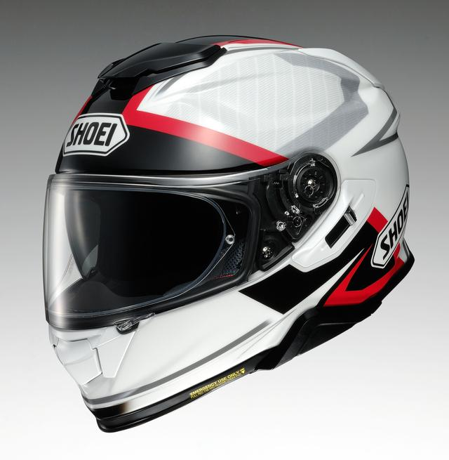 画像: SHOEI GT-Air II AFFAIR TC-6(WHITE/BLACK)