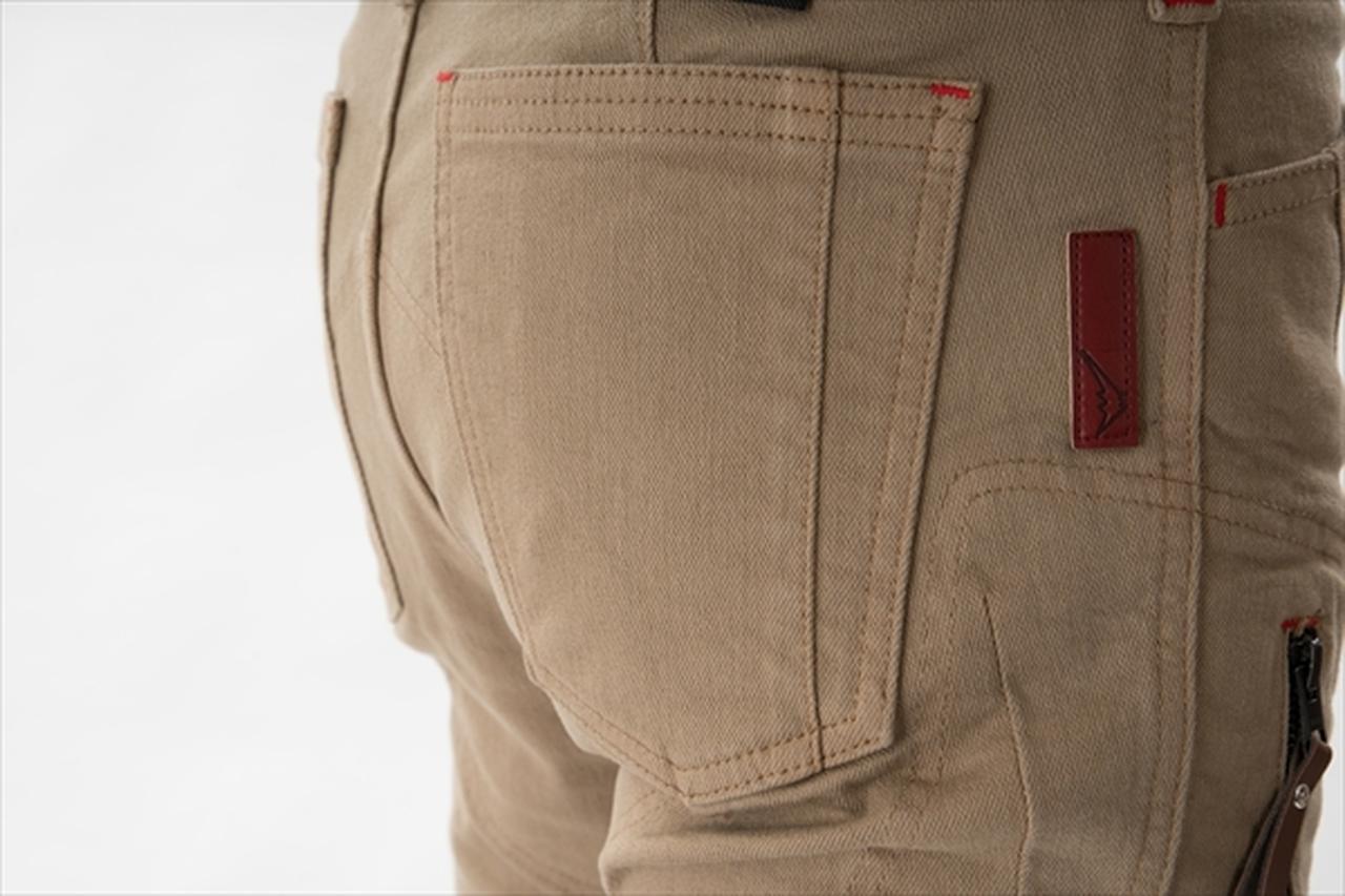 画像: 物の出し入れがしやすい後ろポケット
