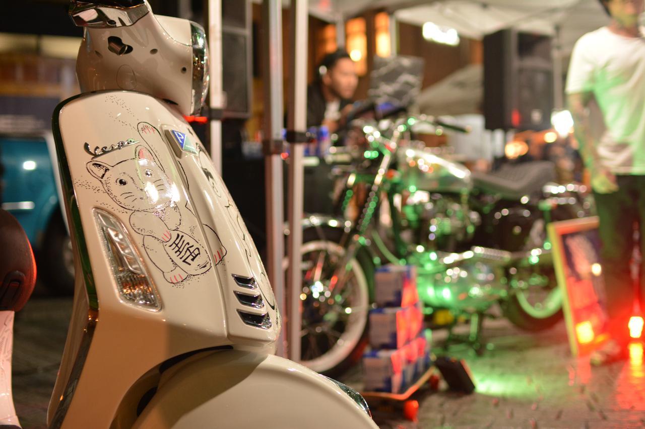 画像2: ナイトパーティ、DJブース、アート……これまでにないバイクイベントを目指す、バイク好きの若者たちが集った!