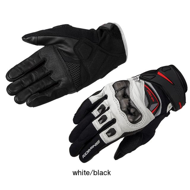 画像: GK-224 Carbon Protect Leather Mesh Gloves